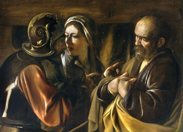 Caravaggio, The Denial of St. Peter