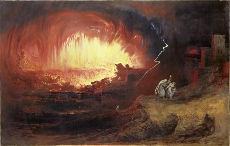Martin, The Destruction of Sodom and Gomorrah