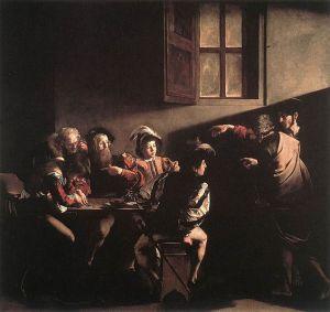 Caravaggio, The Calling of St. Matthew