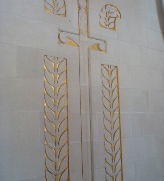 Memorial chapel at Oise-Aisne American Cemetery