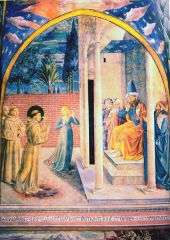 St. Francis with Sultan al-Kamil