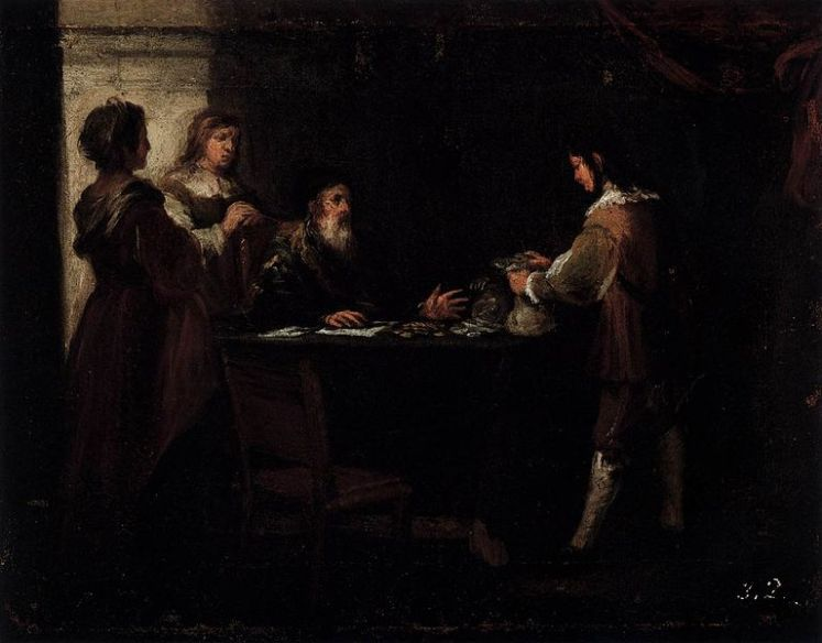 Murillo, The Prodigal Son Receives His Rightful Inheritance