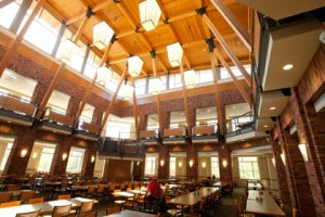 Dining Center, Brushaber Commons, Bethel University