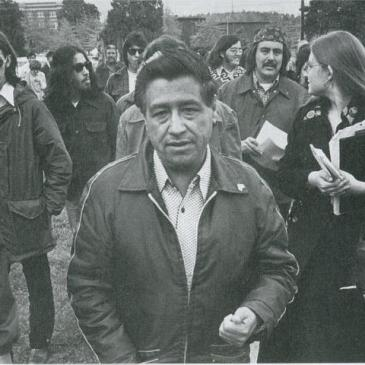 Cesar Chavez in 1974