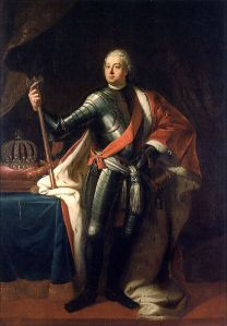 Gericke, portrait of Frederick William I