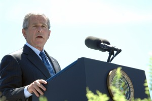 George W. Bush in 2007