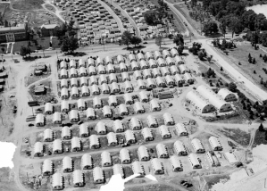 Quonset village at Michigan State