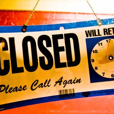 Closed - Please Call Again