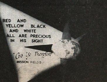 BGC world missions ad, 1956