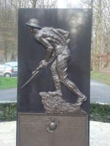 Marines memorial in Belleau Wood