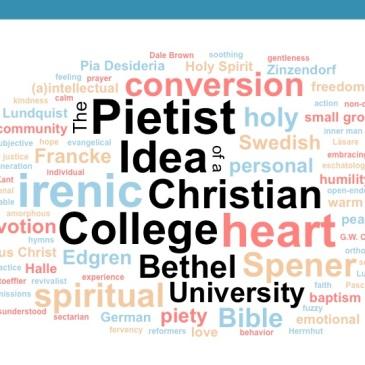 Pietist Idea of a Christian College word cloud
