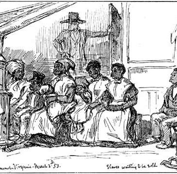 "Crowe, ""In the Richmond Slave Market"""