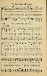 """""""America"""" in 1922 Rodeheaver hymnal"""