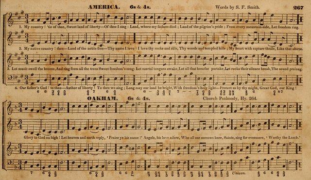 """America"" in ""The Choir"" (1833)"