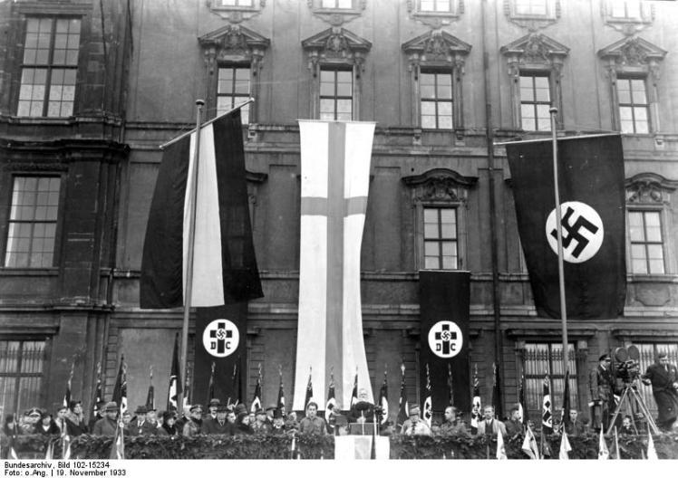 German Christian celebration, 1933