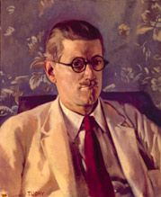 Portrait of James Joyce by Patrick Tuohy