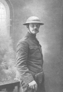 Joyce Kilmer in U.S. Army uniform