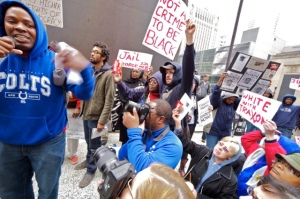 Trayvon Martin protest, March 2012