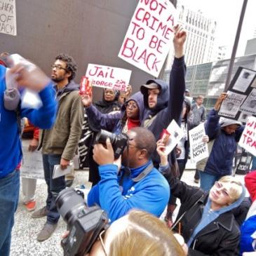 Trayvon Martin protest, March 2012