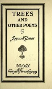 Kilmer, Trees and Other Poems (1914)