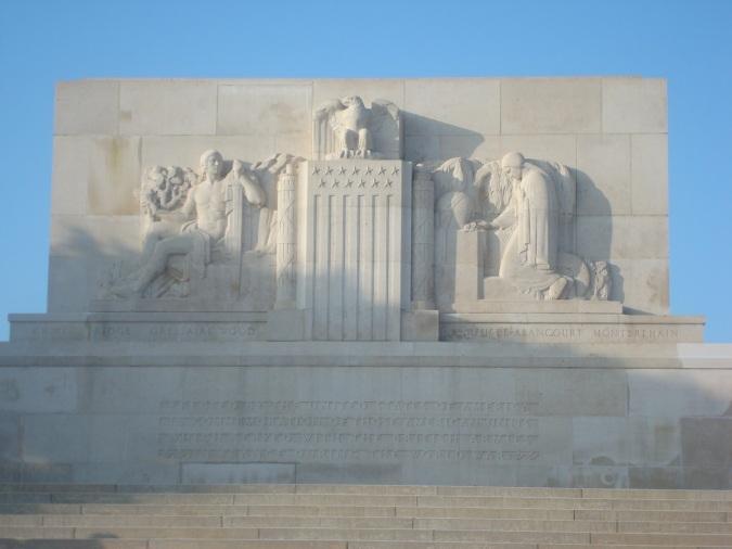 AEF Memorial near Bellicourt