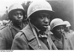Black POWs in December 1944, at the Battle of the Bulge