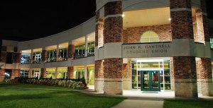 Cantrell Student Union at Evangel University