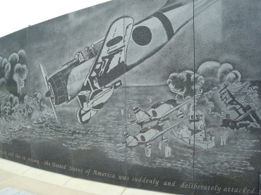 Image of Pearl Harbor at Rochester (MN) Soldiers Field Veterans Memorial