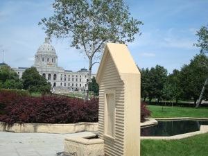 Facade of house at MN Vietnam Veterans Memorial