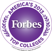 Forbes Top Colleges, 2013