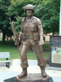 GI Statute at Hayfield (MN) Veterans Memorial