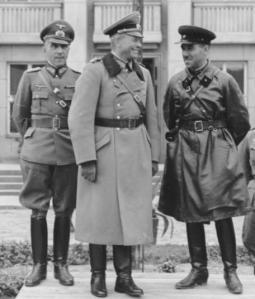 Heinz Guderian and Semyon Krivoshein