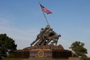 """The Marine Corps (""""Iwo Jima"""") Memorial"""