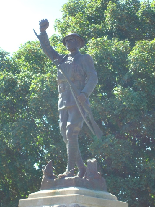 Doughboy Statue in New Ulm City Cemetery