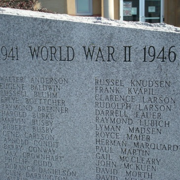 WWII Dead from Pierce County Veterans Memorial