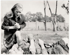 Julien Bryan's famous photo of a Polish air raid victim, September 1939