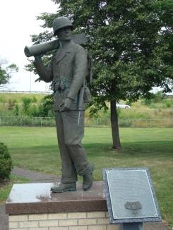 Sorenson Statue at Anoka Veterans Memorial