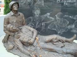 Statue in Mower County Veterans Memorial (Austin, MN)