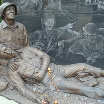 Statue in Mower County Veterans Memorial (Austin, MN)