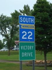 """Victory Drive,"" near Mapleton, MN"