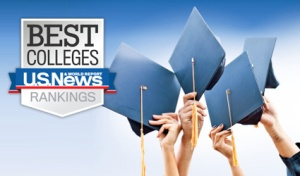 U.S. News Best Colleges 2014 logo