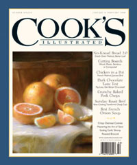 2007 issue of Cook's Illustrated
