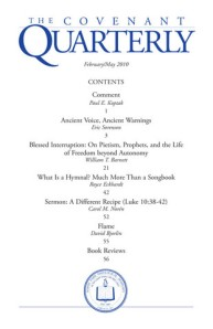 Cover of the Covenant Quarterly