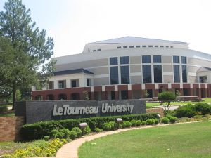 Entrance to LeTourneau University