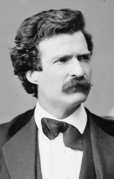 Mark Twain (1871, by Matthew Brady)