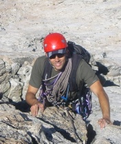 David Williams climbing in the High Sierras