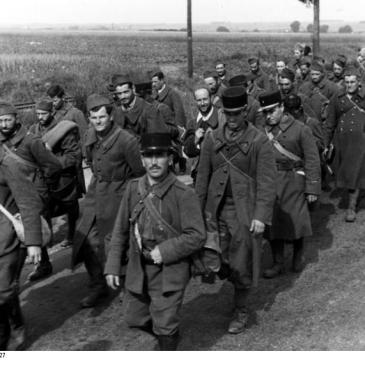 French POWs in 1940
