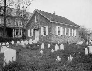 Old Mennonite Church in Germantown, PA