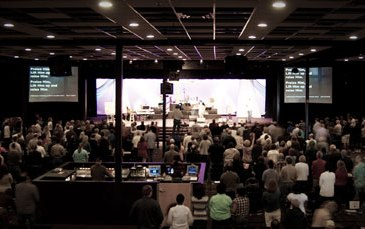 Worship at Woodland Hills Church