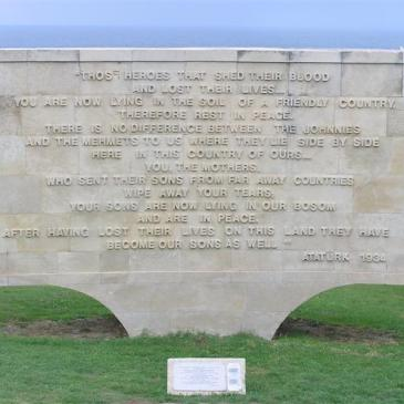 ANZAC Cove Memorial